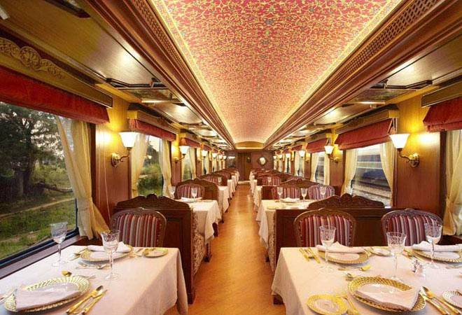The luxurious Maharajas Express will begin serving southern India on July 1. Photo: Business Today