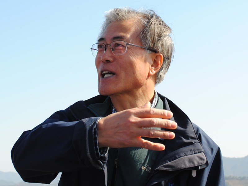 South Korea's President Moon Jae-in. Photo: Wikimedia Commons