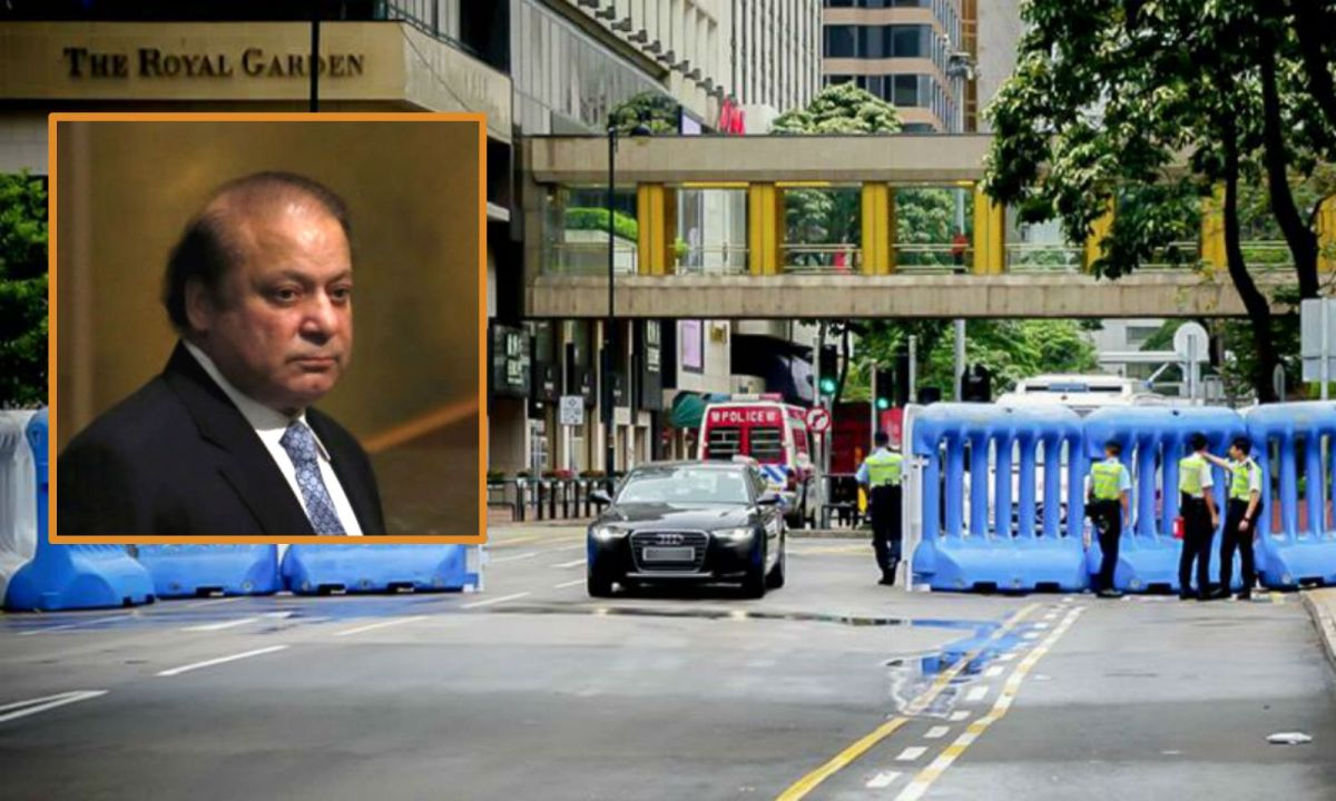 Muhammad Nawaz Sharif (inset), prime minister of the Islamic Republic of Pakistan, is visiting Hong Kong. Photo: Reuters
