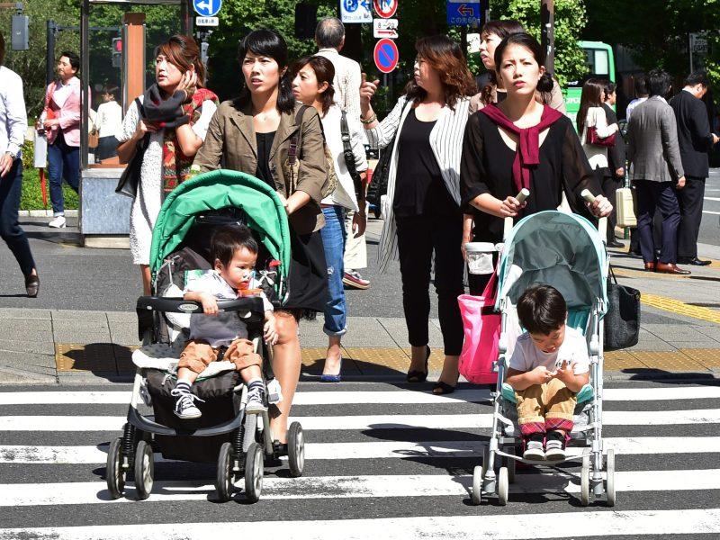 Future low-paid workers?  Photo: AFP/Yoshikazu Tsuno