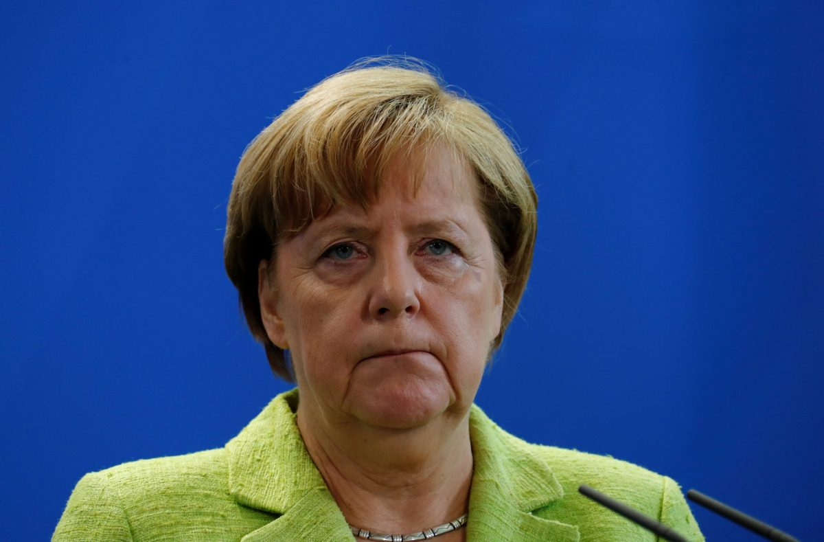 German Chancellor Angela Merkel. Photo: Reuters/Fabrizio Bensch