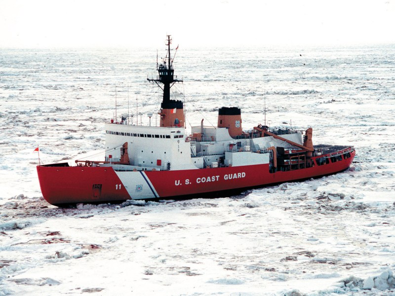 Polar Star, an aging US Coast Guard icebreaker. Photo courtesy of US Coast Guard