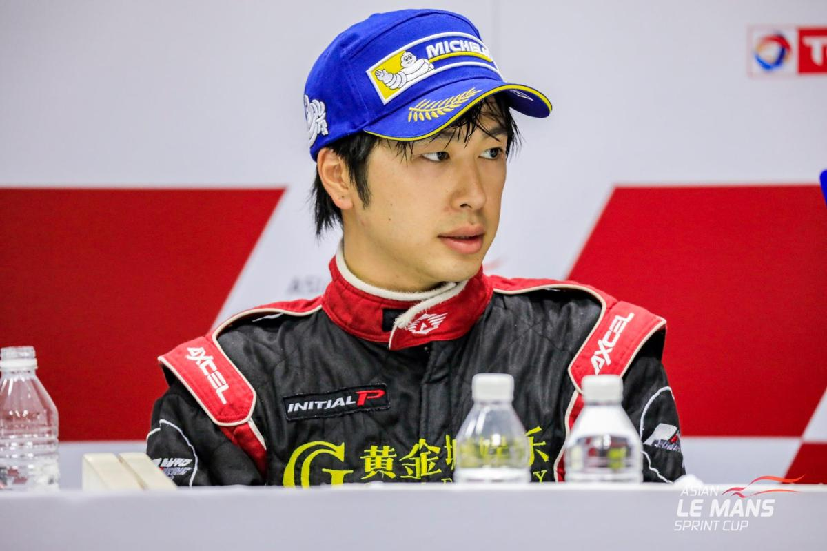 Edgar Lau at the Asian Le Mans Series Sprint Cup. Photo: CBR Media