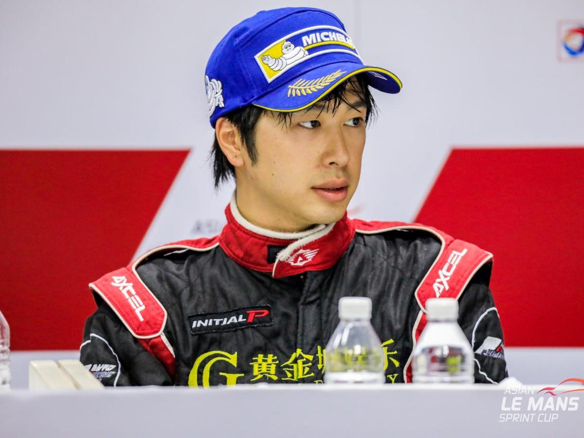 Edgar Lau at the Asian Le Mans Series Sprint Cup. Photo: CBR Media