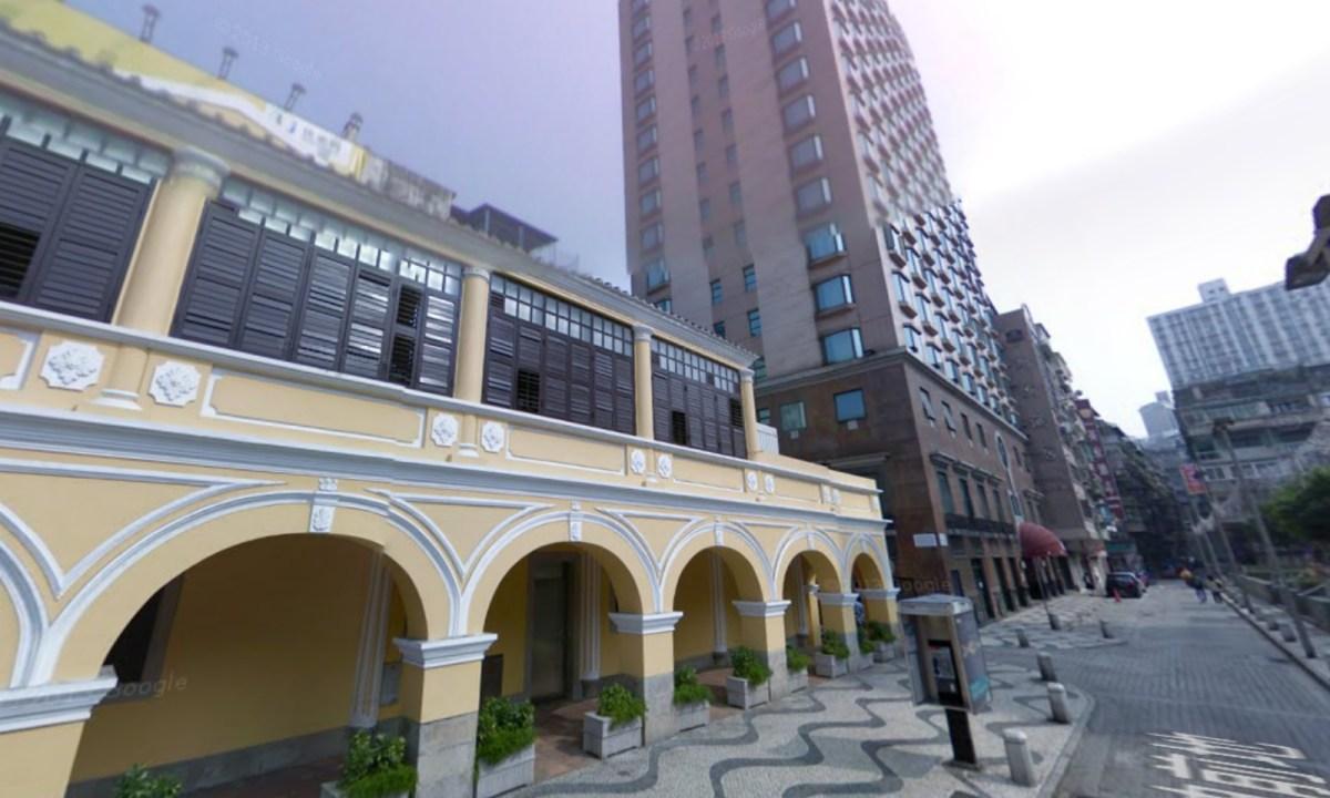 Praca de Ponte e Horta, Macau Photo: Google Maps
