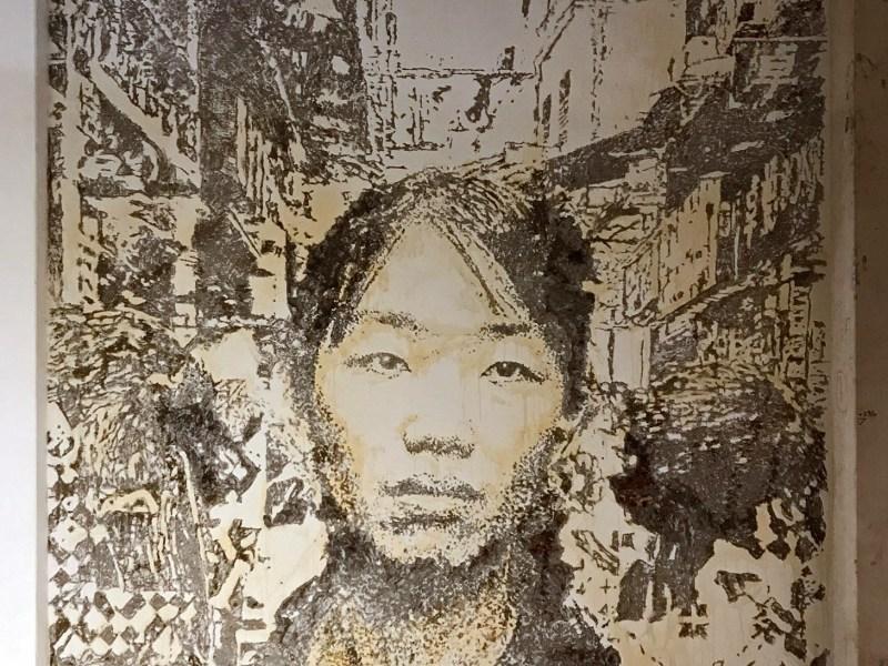 New mural part of the Debris Exhibition in Macau.  Photo: José Pando Lucas