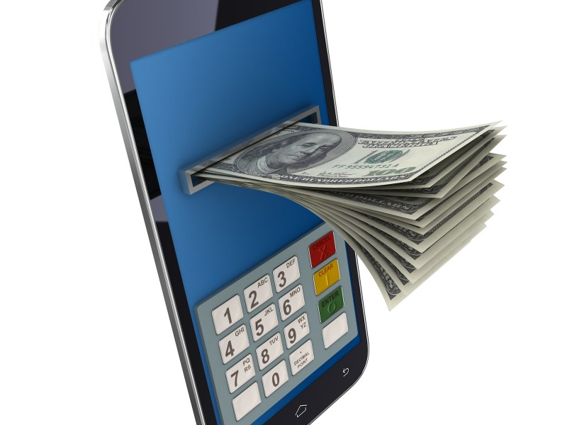Mobile banking is becoming increasingly popular in Asia. Photo: iStock