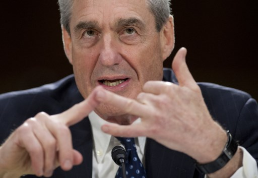 Former FBI chief Robert Mueller, the special counsel investigating if Russia colluded in last year's bitter election campaign. What happens if he concludes T