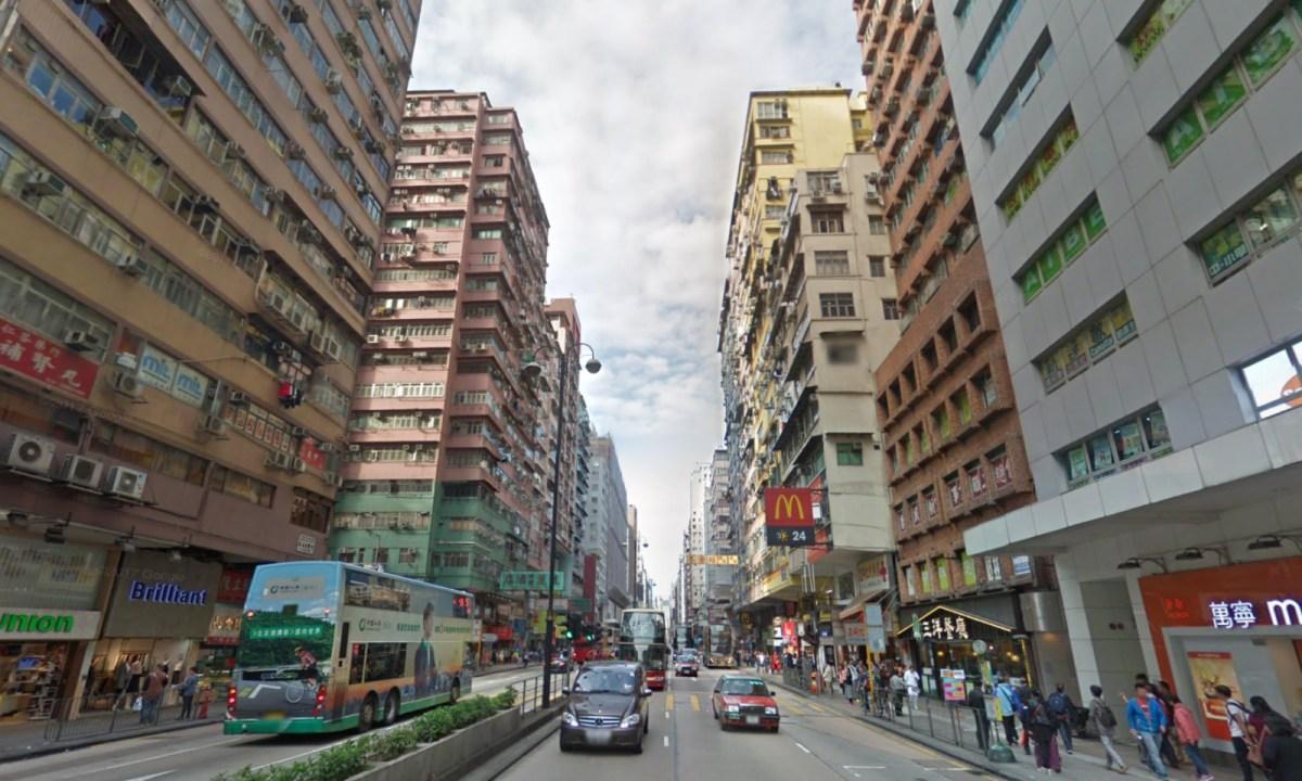 Nathan Road, Yau Ma Tei. Photo: Google Maps