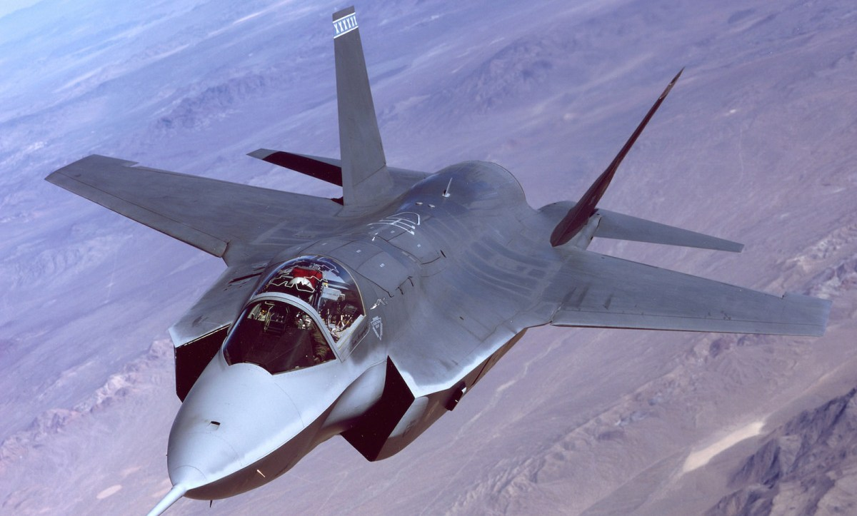 The 2018 US defense budget includes 70 X-35 Joint Strike Fighter aircraft, but the modest procurement, which includes other fighter aircraft and naval vessels, is basically the same as Obama administration requests for the last few years. Any expansion of the US military is likely to wait until later in Trump's administration. Photo: Wikipedia Commons
