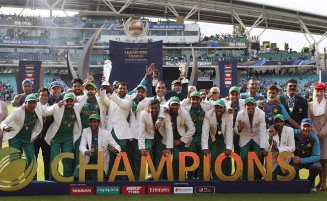 Pakistan beat India by 180 runs in the Champions Trophy final in London. Photo: NDTV