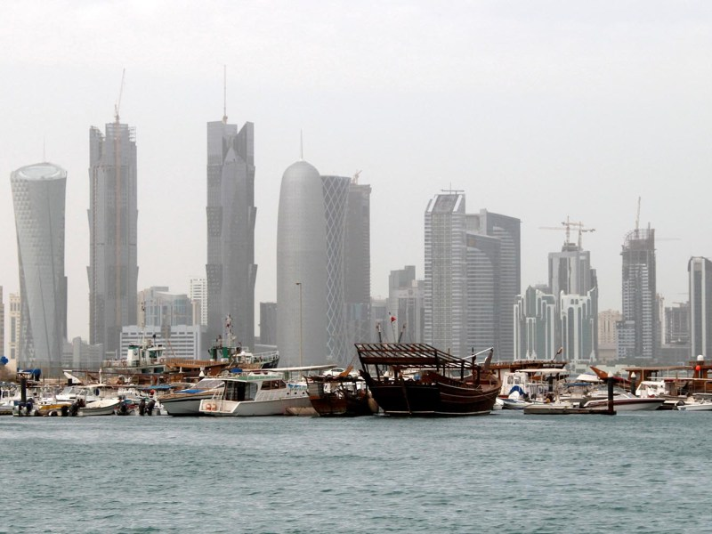 China's COSCO shipping has suspended services to Qatar after several Arab countries severed diplomatic ties with the Gulf state. Photo: Reuters