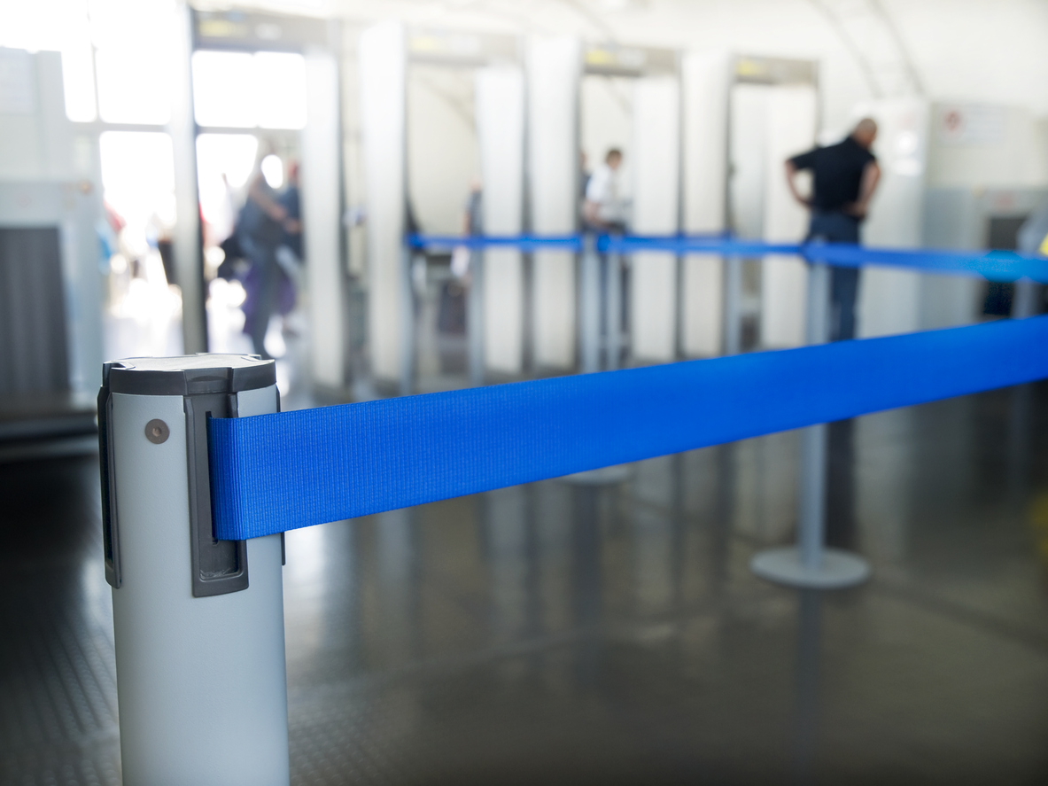 Airport security. Representational image. Photo: iStock