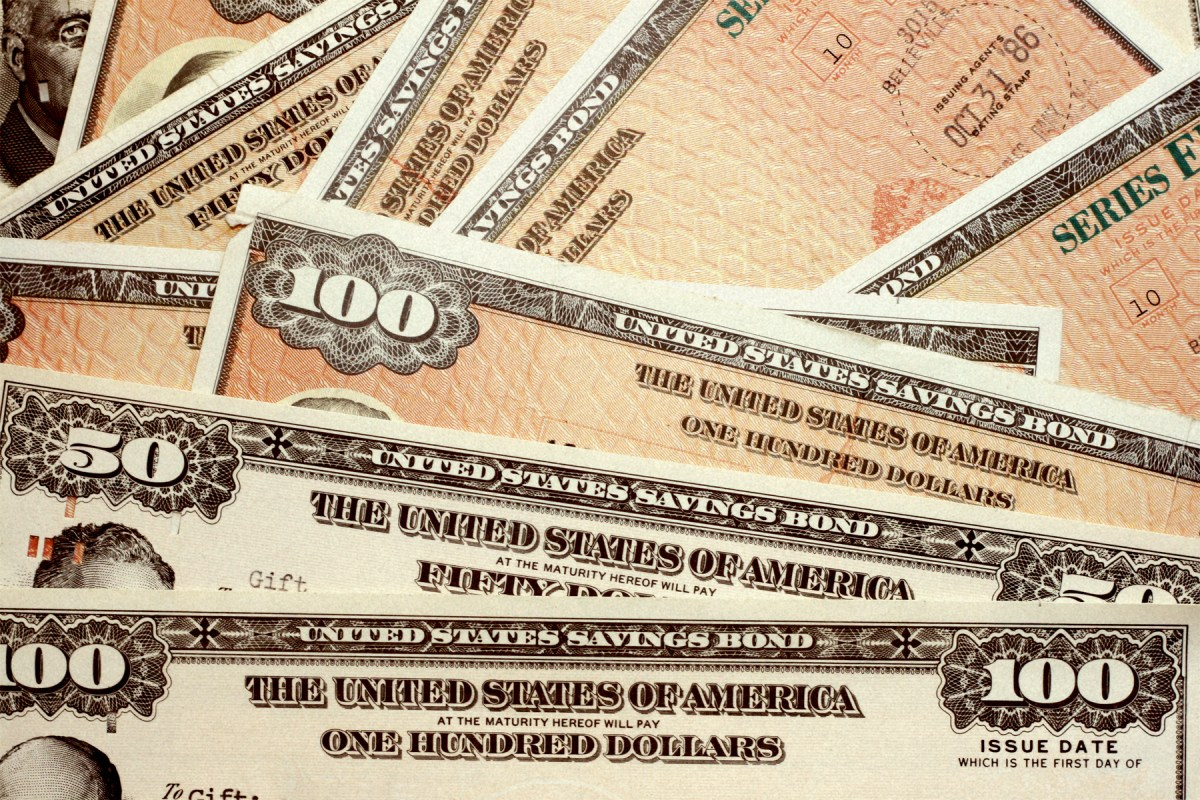 Bonds issued by the US Treasury. Photo: iStock