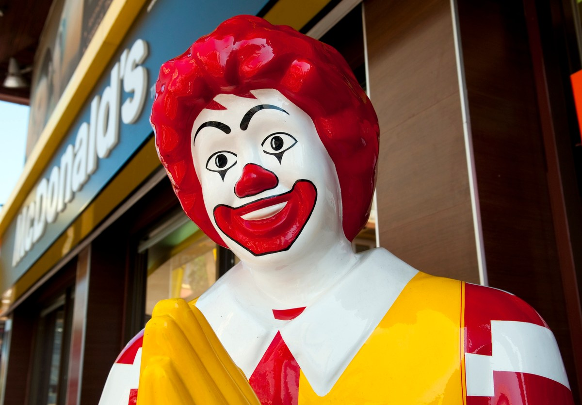 The closure of 43 McDonald's outlets in New Delhi is depressing news for Ronald. Photo: iStock