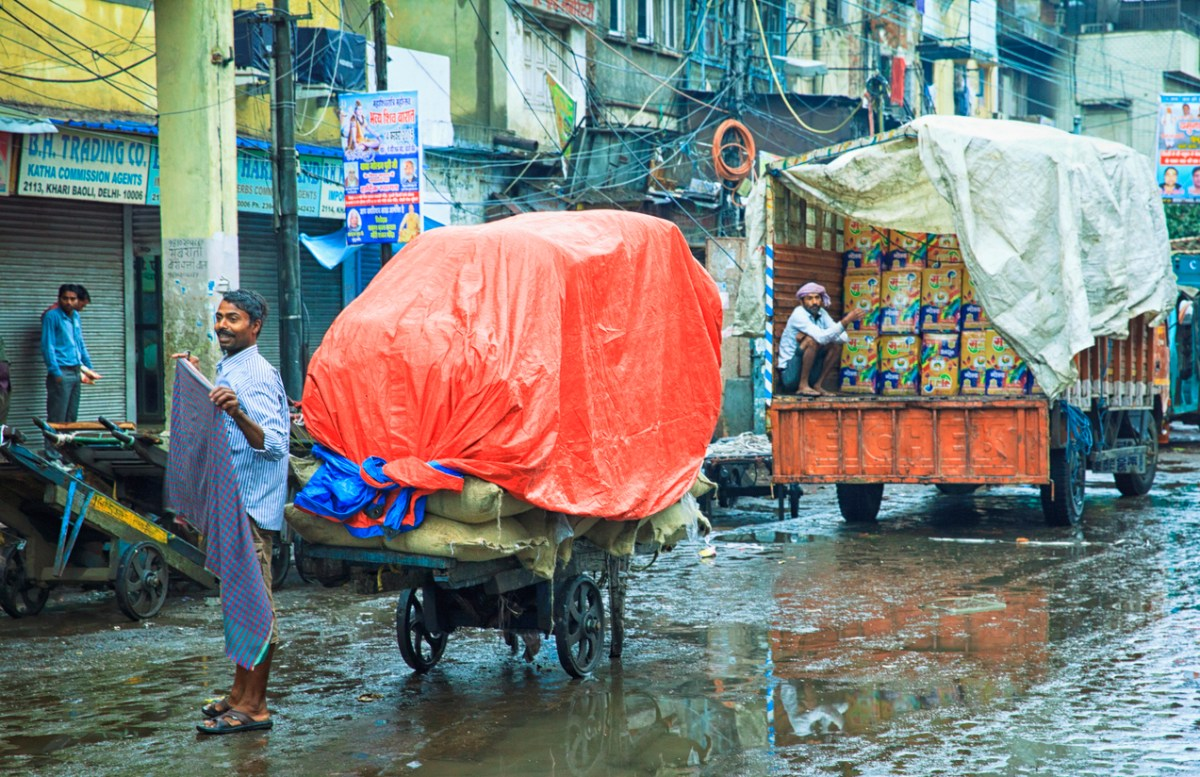 Rain is expected to bring some relief for New Delhi residents. Photo: iStock