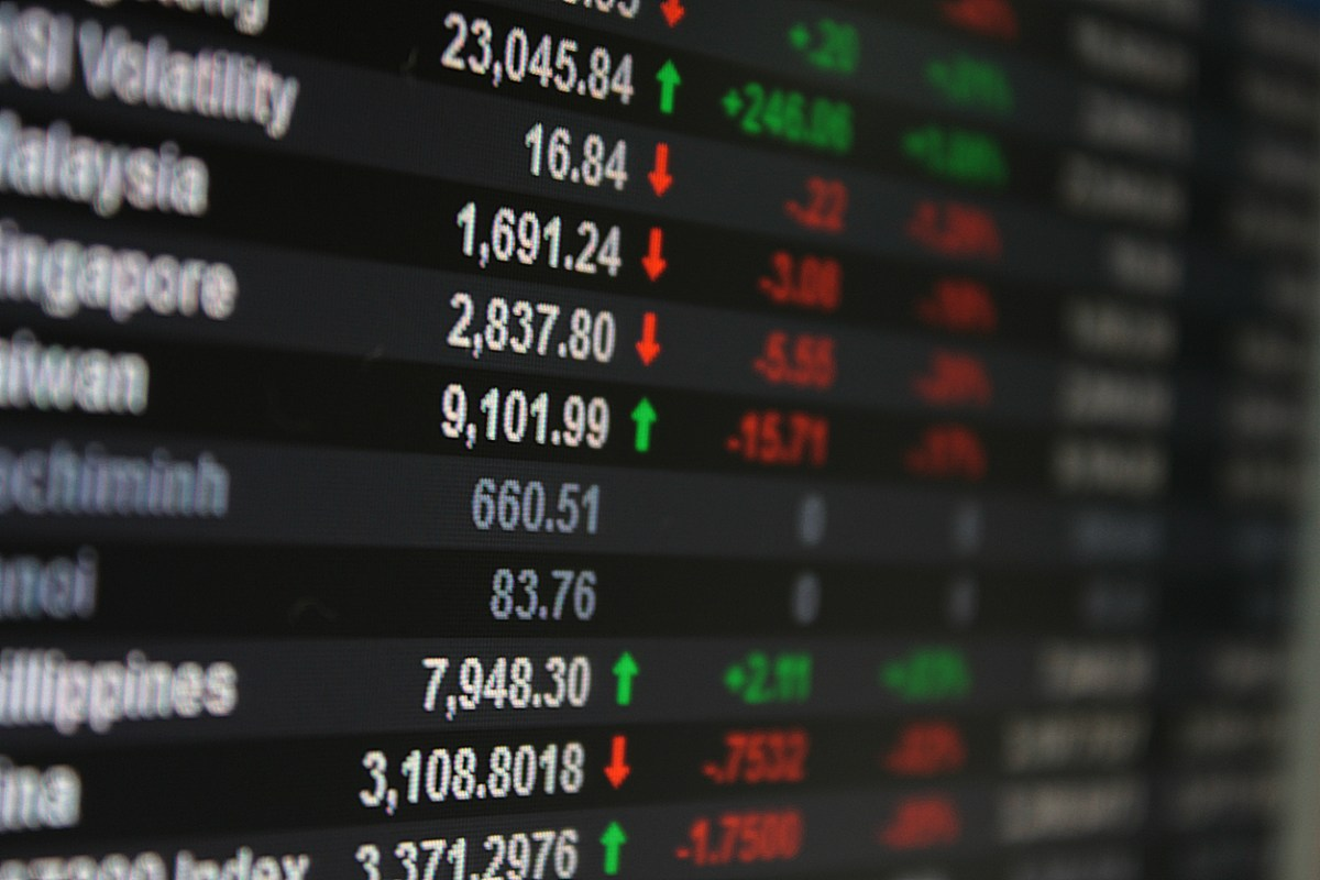 Asia Pacific Stock Exchange on board. Photo: iStock