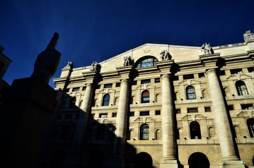 Milan stock exchange. Photo: AFP / Giuseppe Cacace