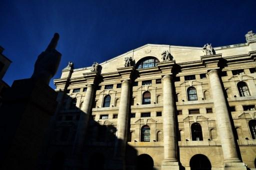 Milan stock exchange. Photo: AFP / Giuseppe Cacace