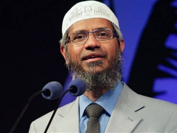 Controversial Islamic preacher Zakir Naik is being probed by Indian agencies for terror-related and money-laundering charges. -- Photo/AFP/Files