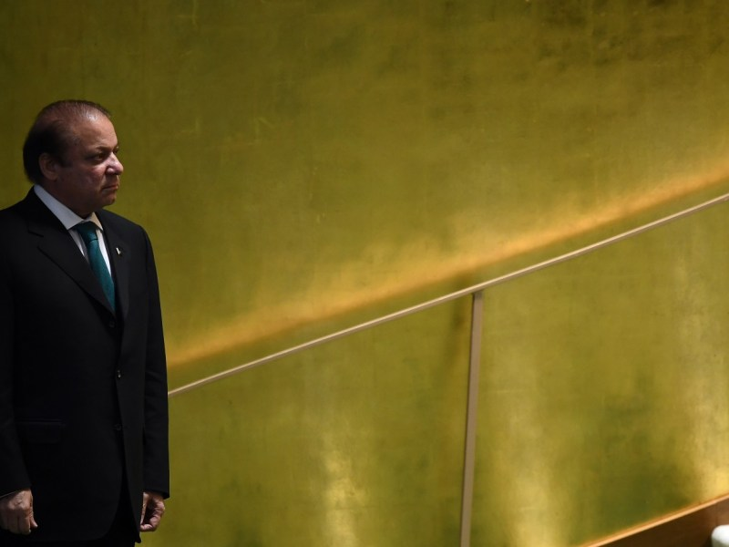 Nawaz Sharif. Photo: AFP / Jewel Samad