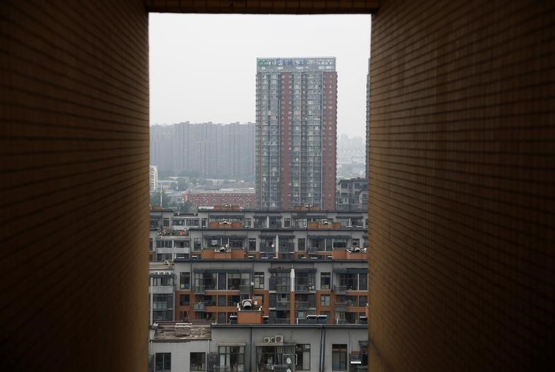 A general view shows residential buildings in Beijing, July 15, 2016. Picture taken July 15, 2016. Photo: REUTERS/Thomas Peter