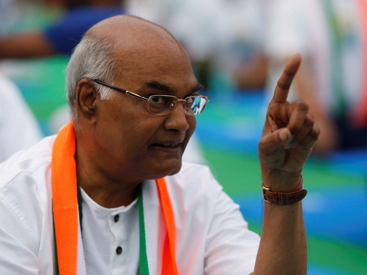 Ram Nath Kovind. Photo: Reuters / Adnan Abidi