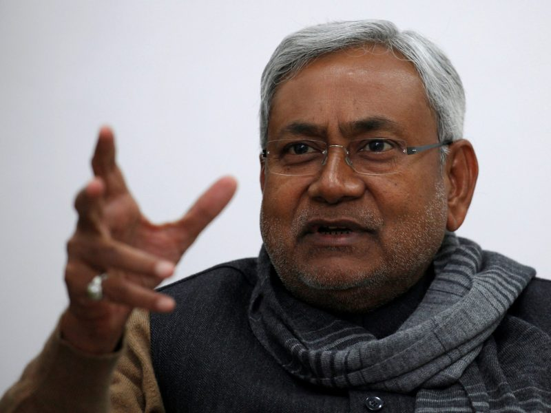 Is Bihar politician Nitish Kumar principled or opportunistic? Photo: Reuters / Adnan Abidi