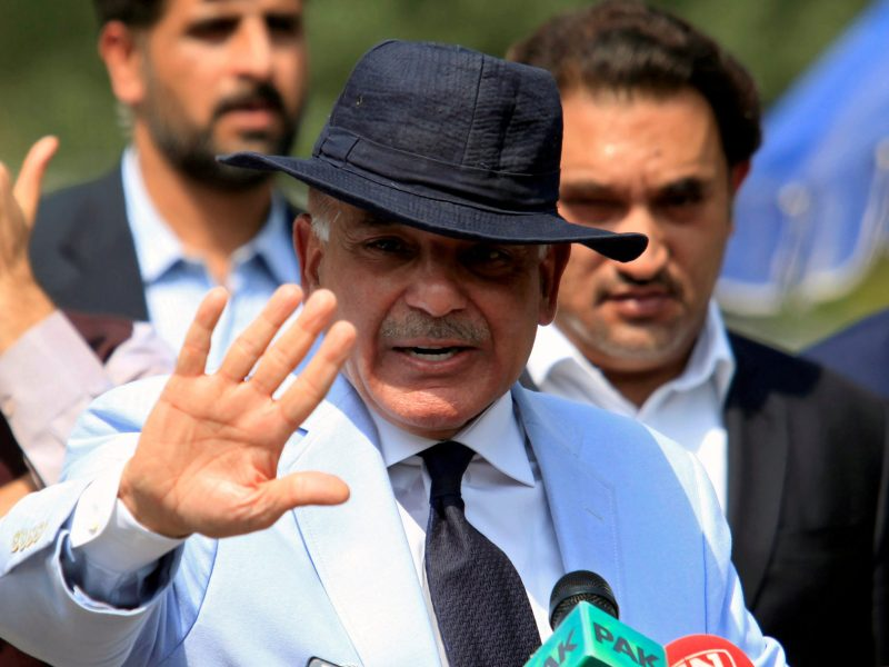 Shahbaz Sharif, chief minister of Punjab province. Photo: Reuters / Faisal Mahmood