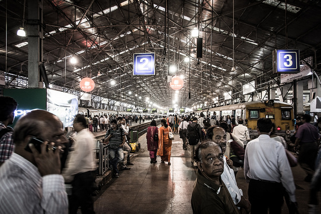 Churchgate train station in Mumbai was the scene a bomb scare on Thursday. Photo: Flickr Commons