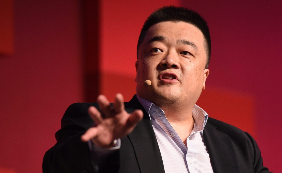 Bobby Lee, head of BTCC, closed the exchange's PRC offices in 2017 after Beijing clamped down on crypto-currency trading. Photo: Stephen McCarthy / RISE / Sportsfile.