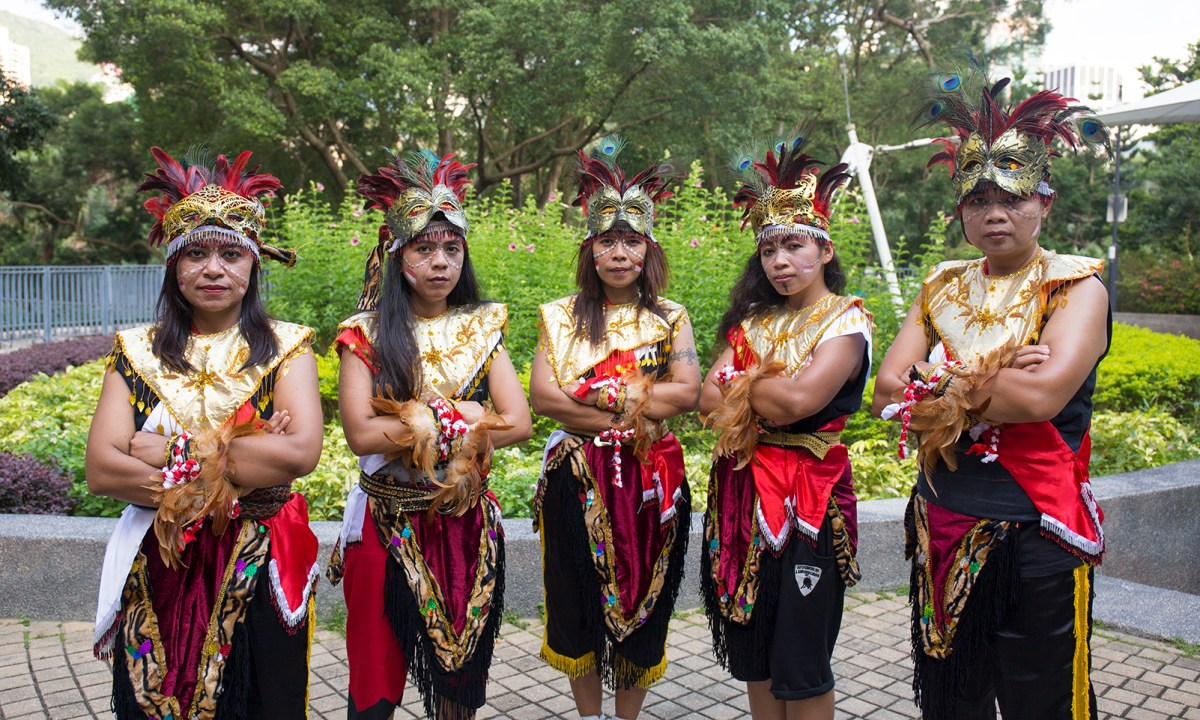 Alexa Dancer, a dancing team founded by Widyawati Alexandria Palupi (center), performs once a month on average. Photo: Asia Times.