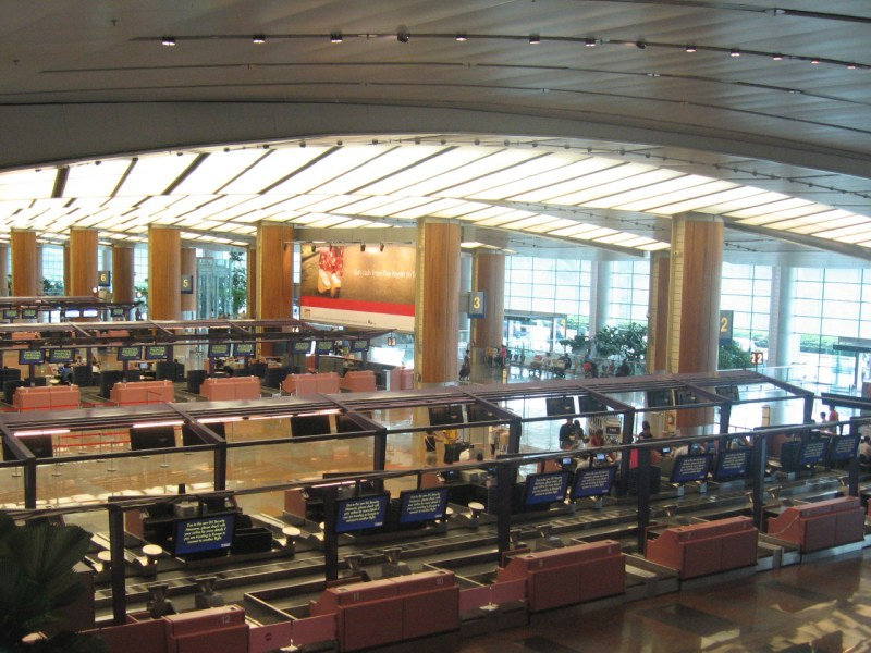 Terminal 2 at Changi Airport in Singapore. Photo: Wikimedia Commons.