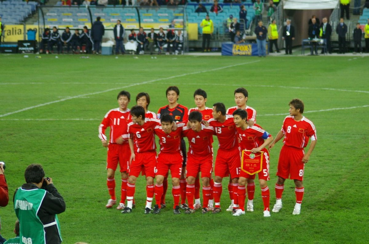 """China's sports industry is """"growing,"""" even as the nation's football team continues to plumb the depths. Photo: Wikimedia Commons"""
