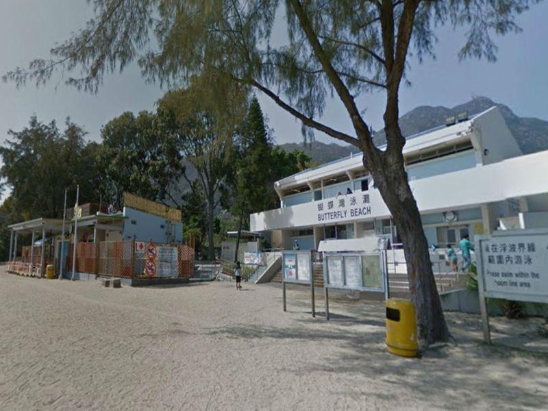 Butterfly Beach in Tuen Mun, New Territories. Photo: Google Maps