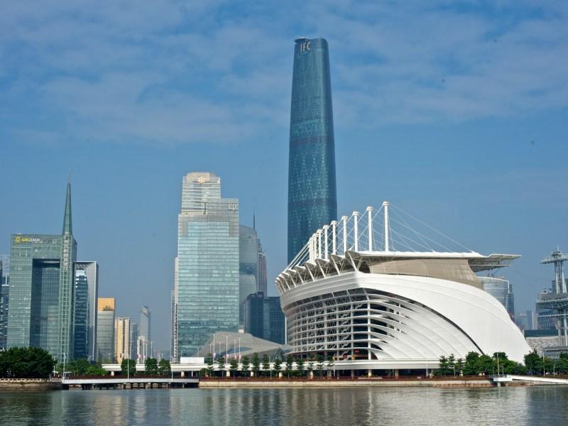 Guangzhou city. Photo: Wikimedia Commons