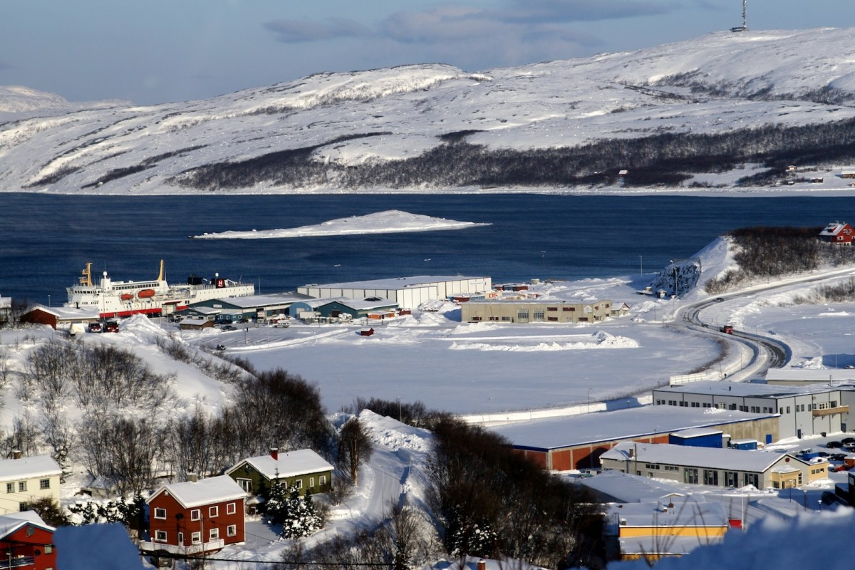 Kirkenes, Norway is a small port that could play a big role in Obor development. Photo: Wikipedia
