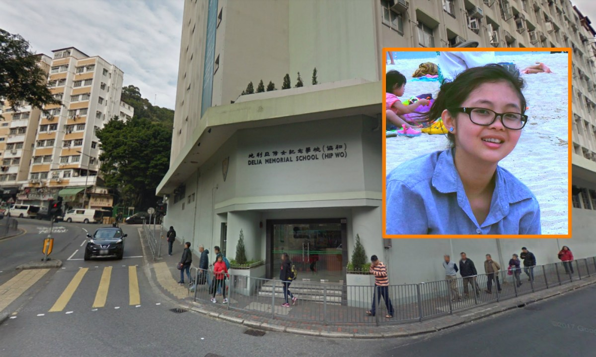 Kazumi Mangaccat, who came from the Philippines to Hong Kong at 12, was studying in Delia Memorial School (Hip Wo). Photo: Google Map, Facebook