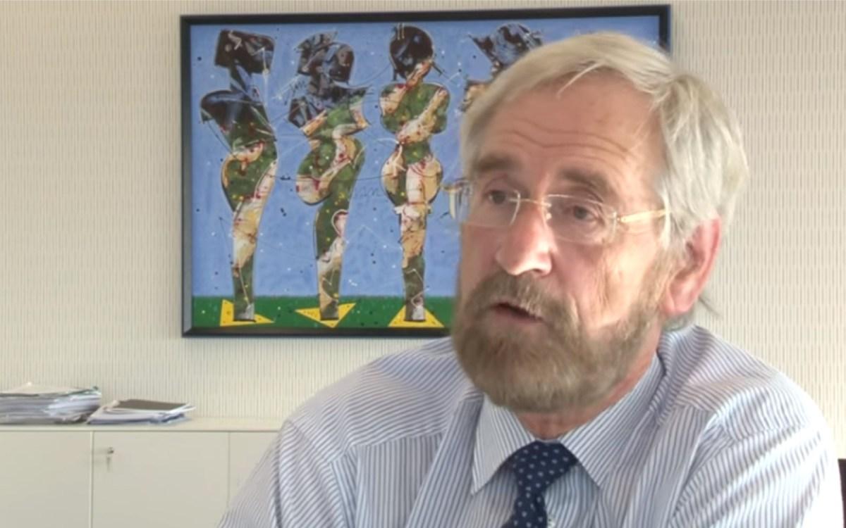 ECB chief economist Peter Praet. AFP