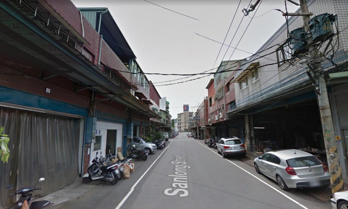 Sanlong Street, Shulin district, New Taipei City. Photo: Google Maps
