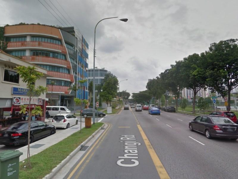 Changi Road, Singapore. Photo: Google Maps