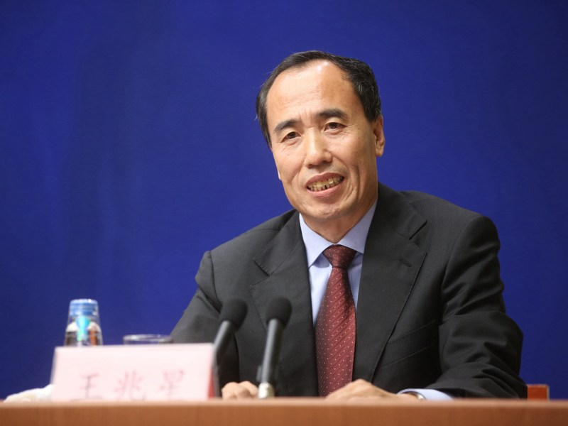 China Banking Regulatory Commission Vice Chairman Wang Zhaoxing. Photo: CBRC