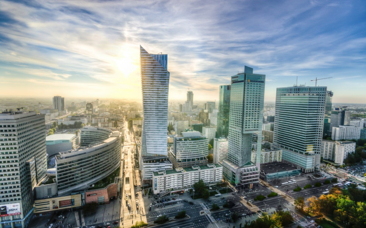 Downtown Warsaw. Photo: Wikipedia