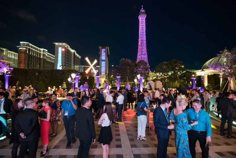 Bon Vivant – a French themed poolside cocktail party at The Parisian Macao.
