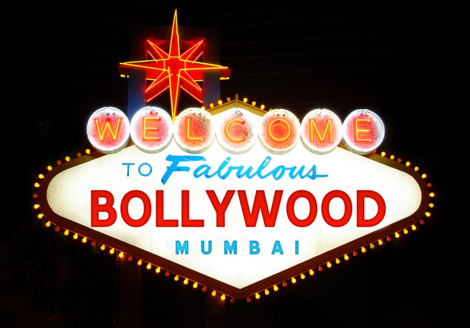 Welcome to Fabulous Bollywood sign. Photo: iStock