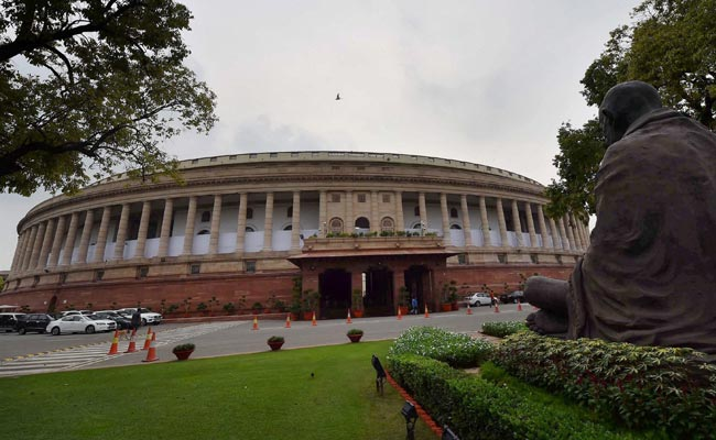 The monsoon session of Parliament began on Monday. Photo: NDTV