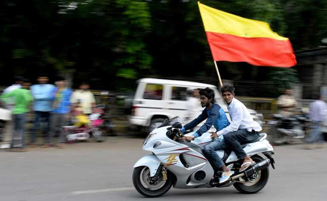 The Karnataka government wants to make the state's unofficial flag official. Photo: NDTV