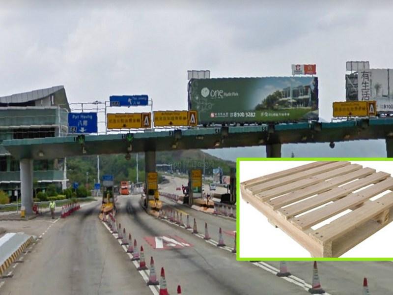 Tai Lam Tunnel, Yuen Long, New Territories Photo: Google Map