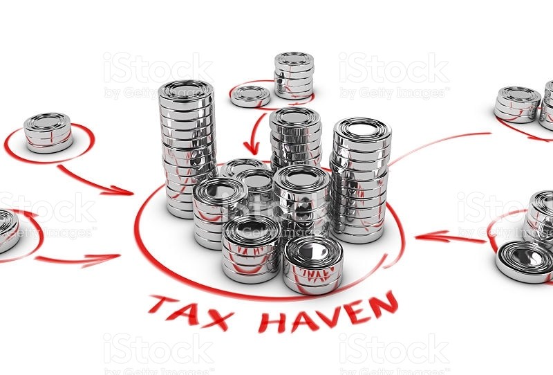 Researchers say that five countries are conduits for nearly half the money flowing into the world's biggest tax havens. Image: iStock/Getty.
