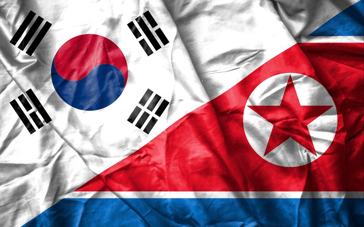 Separate flags but a common history: the two Koreas were a united state for 1,000 years. Photo: iStock